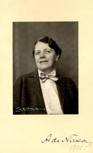 Ada Nilsson, 1935