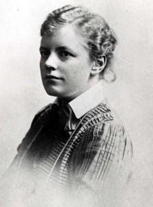 Ada Nilsson, som ung