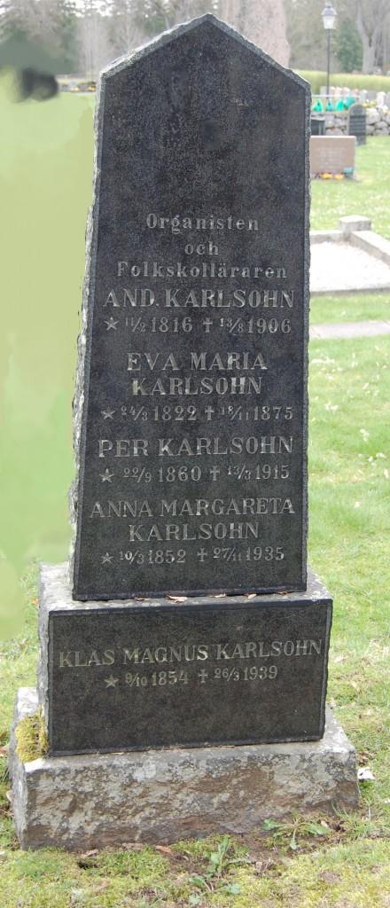 Andreas Karlsohn,organist, Eva Maria