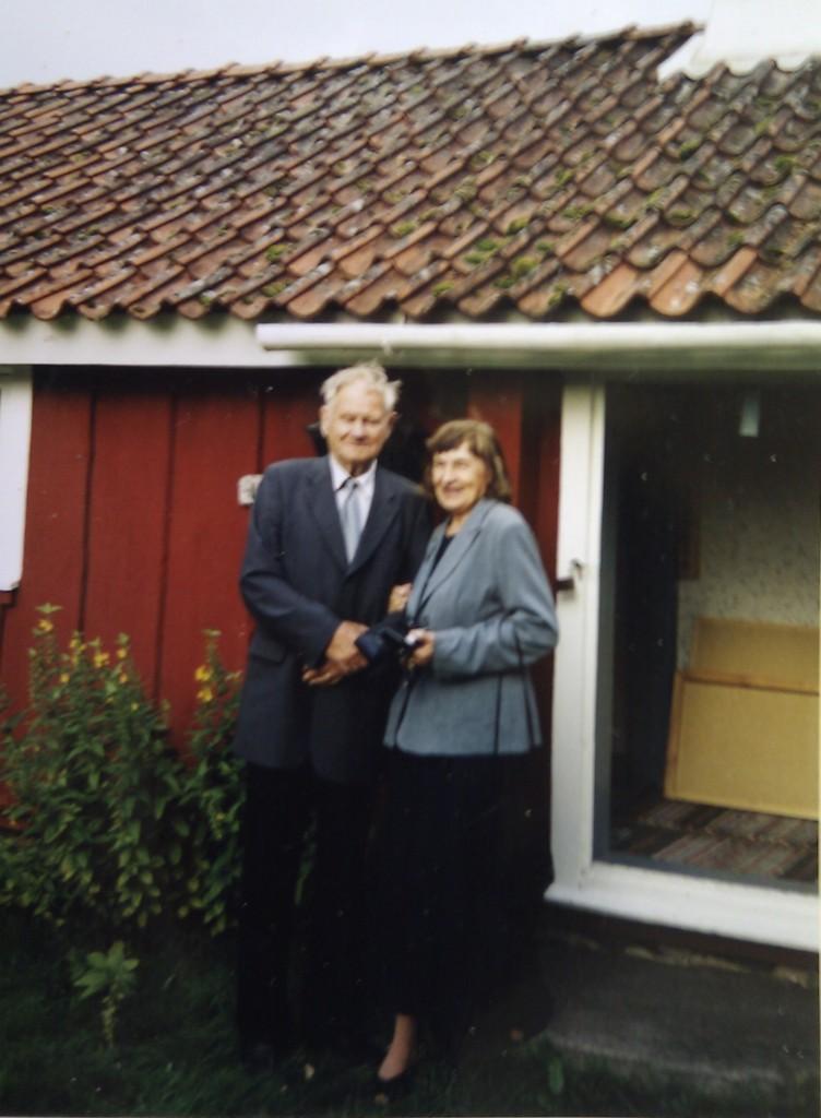 Einar Gustafsson, besök 2005 i Vegby