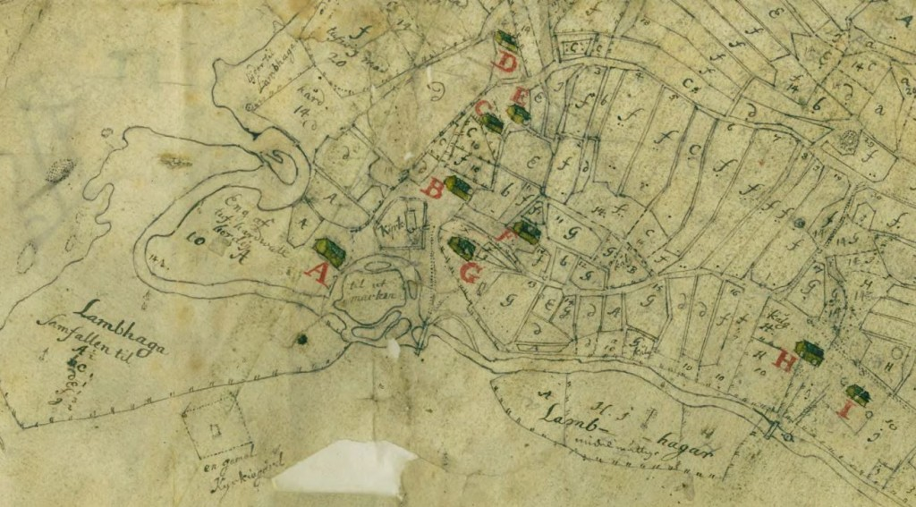 Södra Säm, 1710