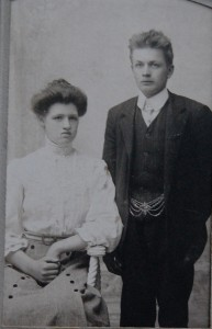 Adelina and husband