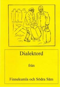 Dialektord, framsida av boken