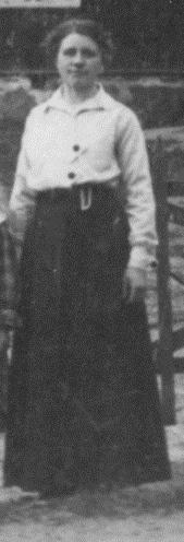 Anna Jakobsson, Säms småskola 1915-1916, klass 1-2..., födda 1907-1908, bild, stor