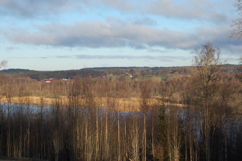 Utsikt från Skogås, Kvastabacken, komp.