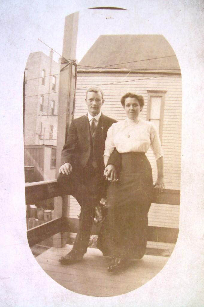 Ludvig och Anna Johnson