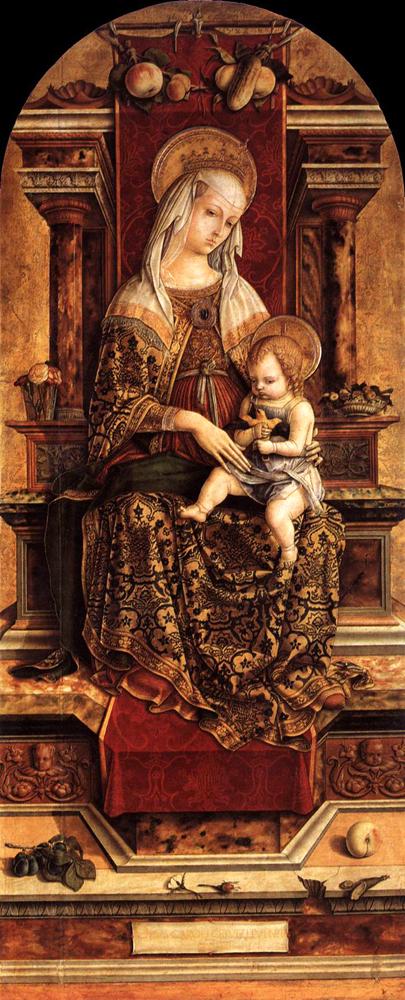 maria med barnet, exempel__Carlo Crivelli