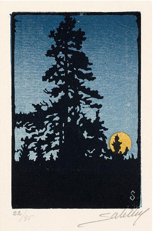 Nordisk afton, av Artur Sahlen