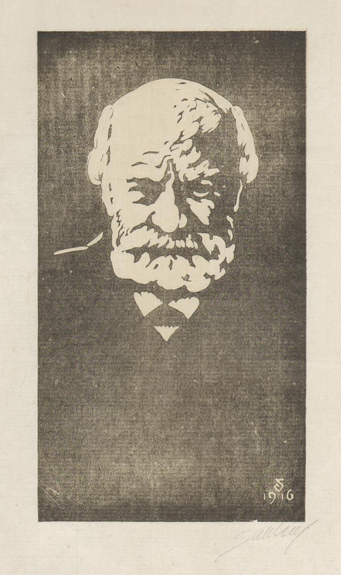 Artur SahlŽn (1882Ð1945), Professor Fritz LŠffler, trŠsnitt