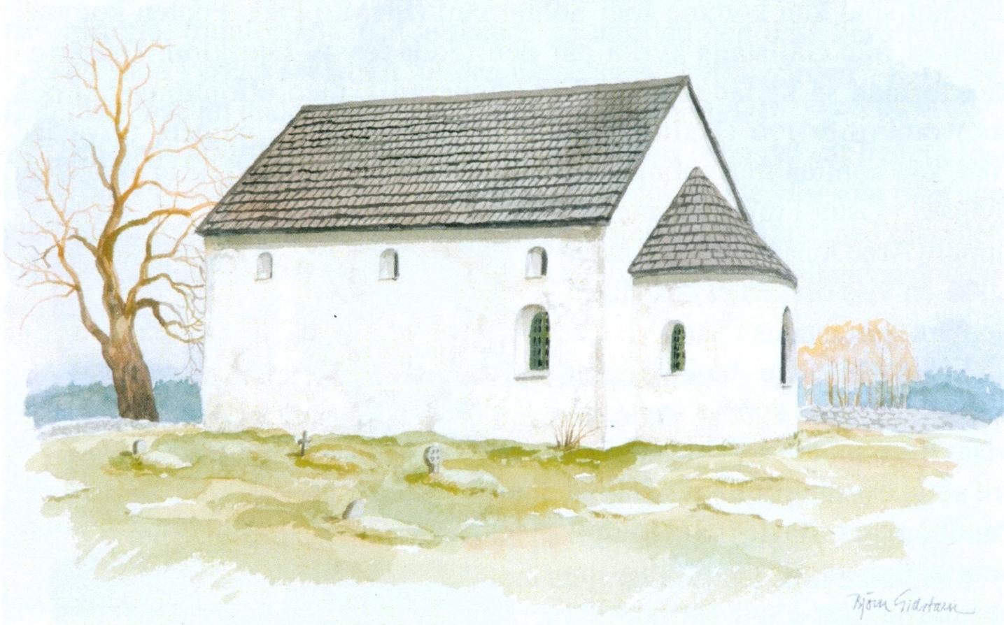 Södra Säms kyrka, B. Gidstam,