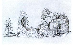 teckning av Djurklou