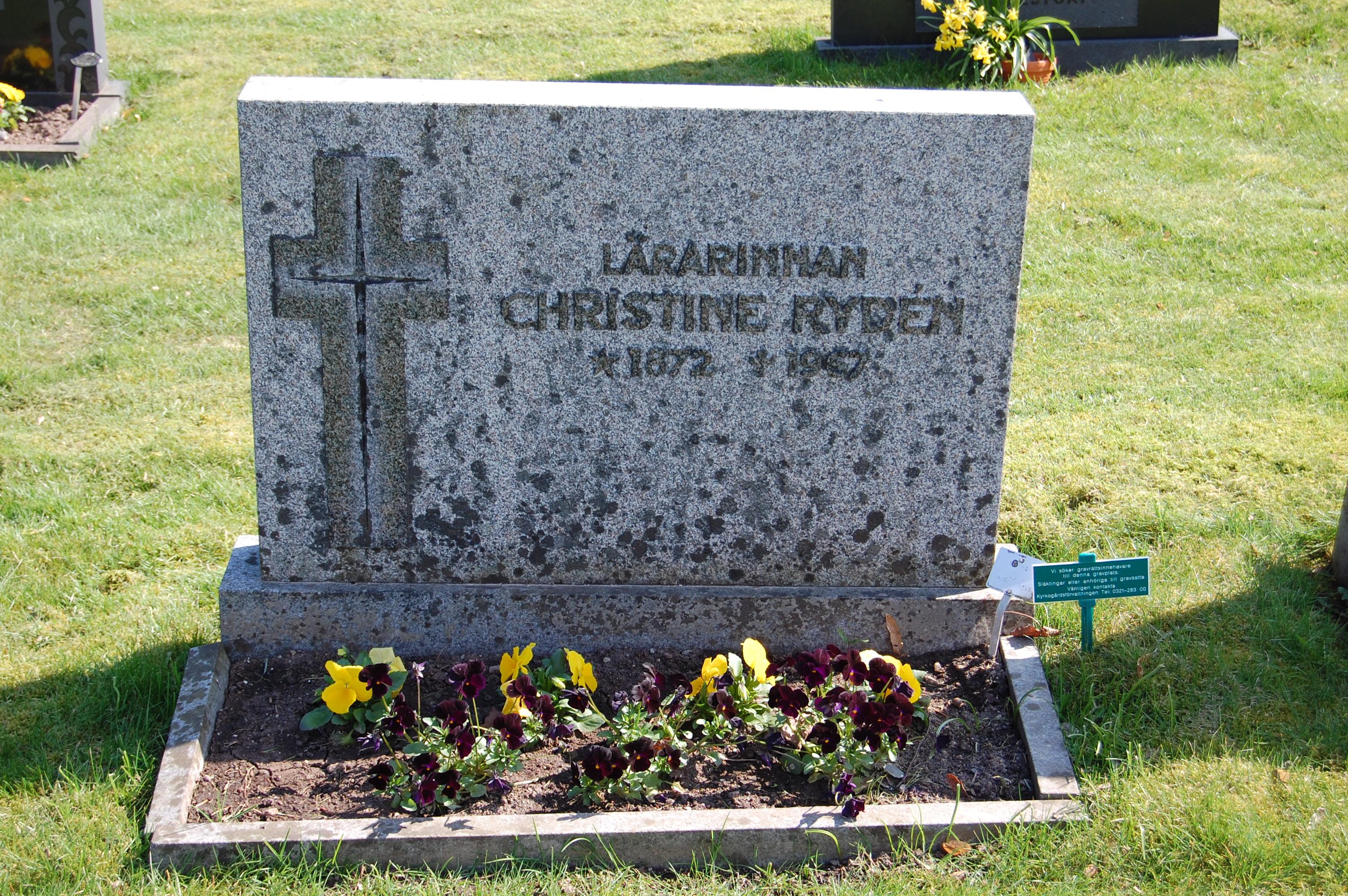 Christine Ryden, 2